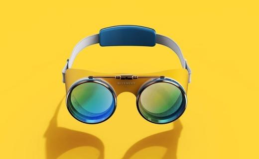 纪梵希VR防目镜,科技设备也时尚了一把