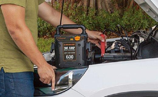 登路普RP8250车载应急电源:反接+过充保护,适合随车携带备用