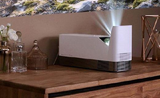 LG推出新款投影机,号称世界最短焦投影机