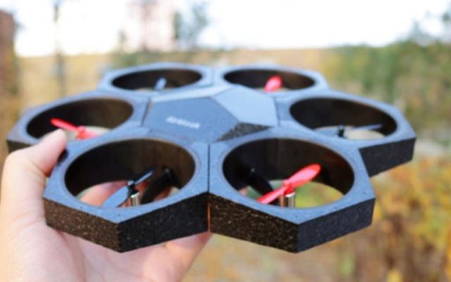 """会飞的""""变形金刚""""能编程,让我和孩子抢着玩 — Makeblock Airblock 模块化可编程无人机体验"""