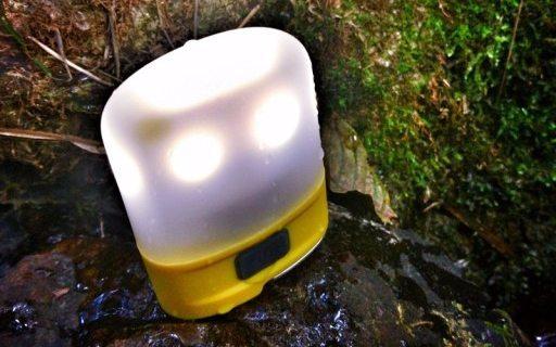 鸡蛋大小带磁吸的营地灯,高亮灯光野外必备 — 奈特科尔LR10营地灯测评