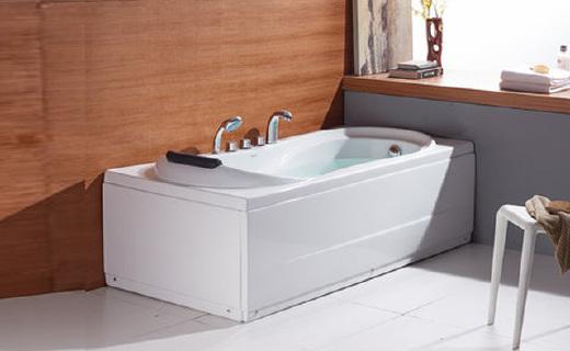 法恩莎F1501SQ浴缸:优质亚克力制作保温节能,光滑细腻好用舒适