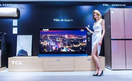 颜值与实力兼具,TCL X8 QLED TV全国国美首发