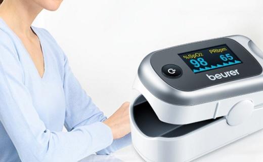 博雅PO40血氧仪:轻轻一按了解身体状况,火柴盒大小方便携带