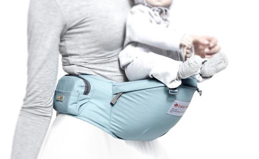 babycare 单凳婴儿背带:双重缝纫牢固安全,倾斜坐垫贴近舒适
