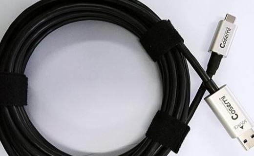 50米级,任意方向10Gbps传输!Cosemi发布首款USB混合有源光缆