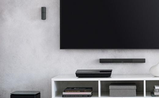 Bose 旗舰版家庭影院,全新中控音箱更精致