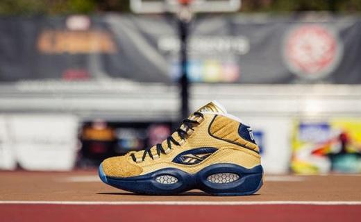 锐步Question Mid篮球鞋:全粒面皮革鞋面,缓震透气脚感极佳