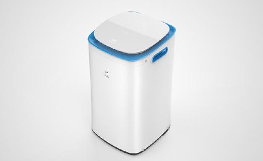 智能检测洗涤剂残留的洗衣机,宝宝穿的超舒爽!