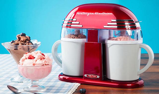 Nostalgia Electrics 冰淇淋机 首发试用