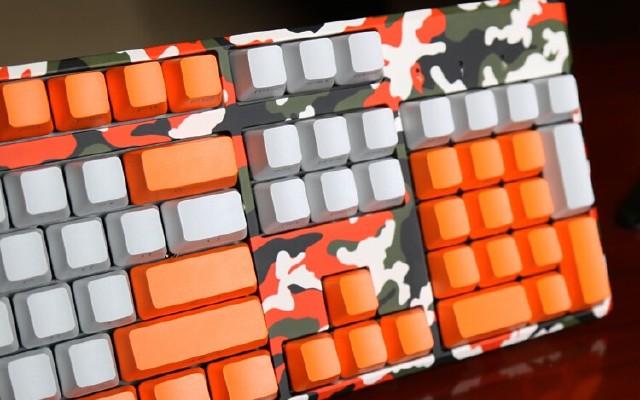 触手可及迷彩梦——摩豹k96机械键盘开箱