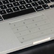 笔记本触控板秒变数字键盘,Nums超薄智能数字键盘测评