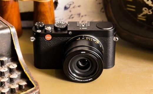 徕卡X卡片相机:经典35mm人文焦段镜头, APS-C画幅传感器