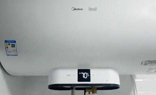 更加懂你的热水神器,美的V3云朵电热水器