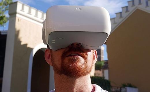动动头就能控制飞行器,大疆飞行眼镜比看片还爽