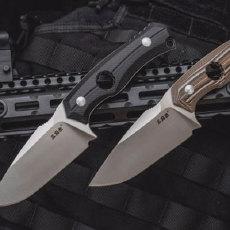 三刃木S725P直刀测评,户外出行带着它,砍劈削切随你用