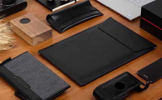 小米笔记本信封包:加厚麂皮防震更耐磨,13吋Mac的完美归宿