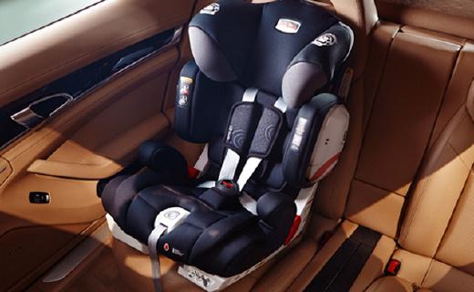 三重接口保护,这款安全座椅让家长更省心!