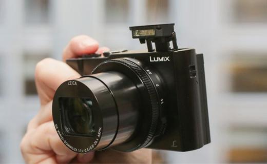松下DMC-LX10相机:4K拍摄支持五轴防抖,F1.4大光圈全能卡片