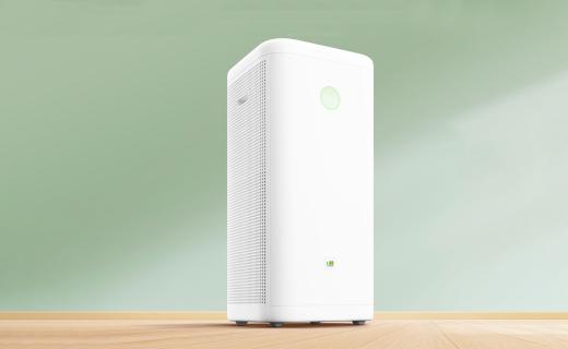 畅呼吸空气净化器:外观极简,强力静音除甲醛