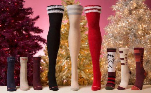 蕾哈娜再推联名袜款,节庆圣诞款很吸睛