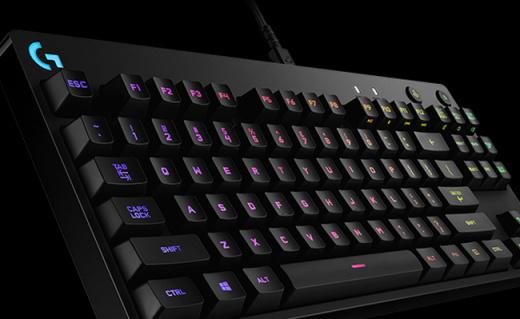 罗技G Pro机械键盘:Romer-G机械轴,专为电子竞技打造