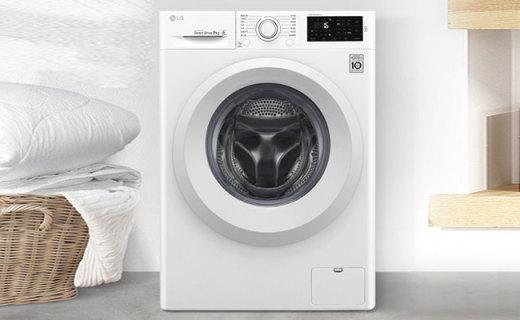 LG滚筒洗衣机:DD直驱变频电机,像妈妈手洗一样干净