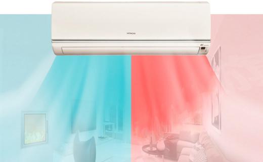 日立RAS/C-12KVNY空调:稀土变频高效省电,除湿除尘更舒适