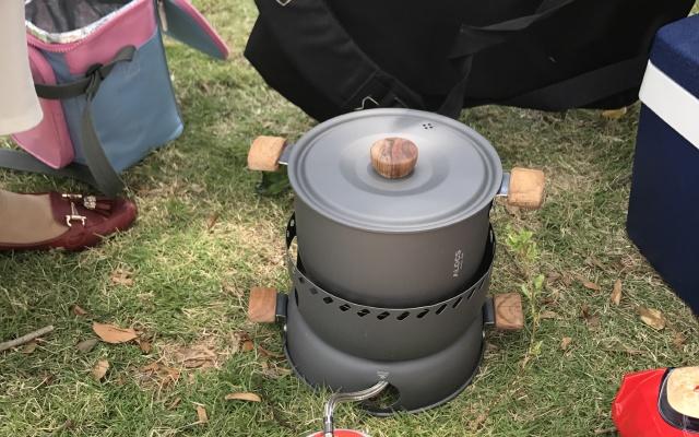 折扣|出门携带便利的刷刷锅,孩子野餐初体验