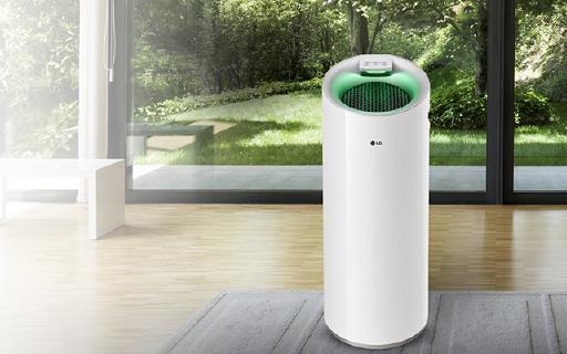 能过滤PM1.0的室内空气净化器,空气状况即时显示