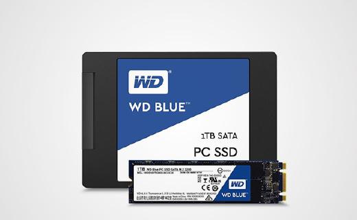 西数发布1TB固态硬盘,让你的电脑快的飞起