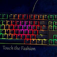 入门级樱桃轴键盘配上RGB是什么效果?DUCKY 3108S测评