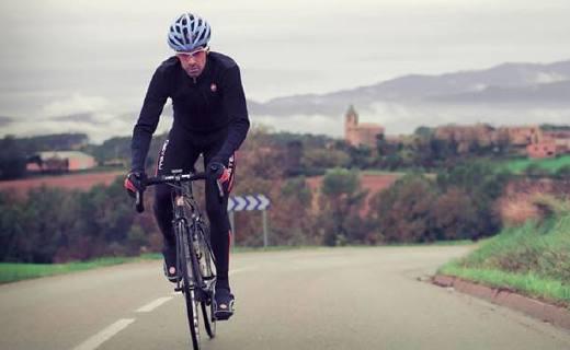 Santic男式骑行长裤:面料结实耐磨防风防水,导流设计排汗去湿