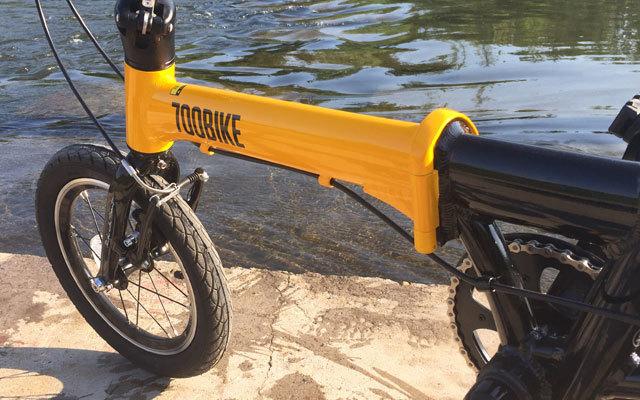 700 bike折叠车小巧车身,居家出游代步神器