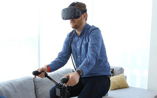 能玩VR的健身自行车,娱乐减肥两不误