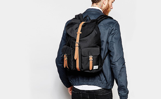Herschel Supply休闲双肩包:复古风格时尚百搭,大容量设计实用方便