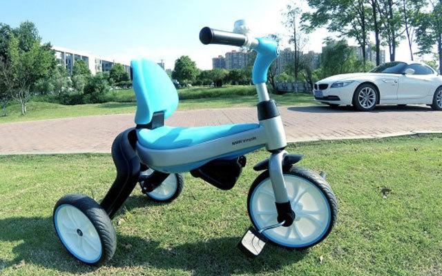 小巧轻便易折叠,孩子也能开的宝马车