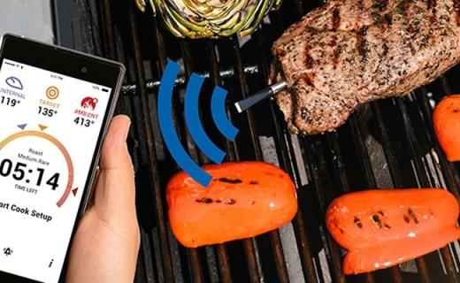 让你秒变大厨的智能温度计,从此肉菜不怕过火