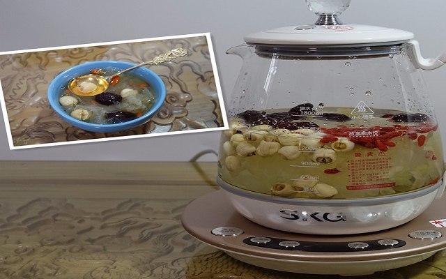 能燉能煮,冬日食補的最佳神器 — SKG高端燕窩養生壺體驗