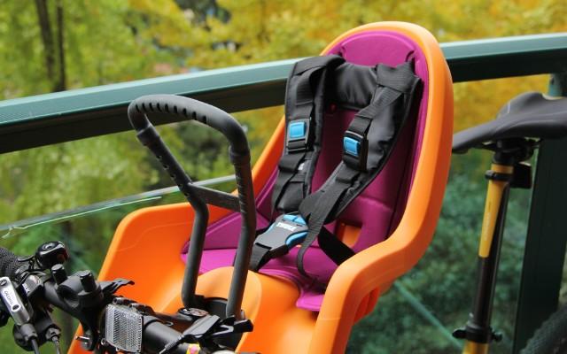 有了它,共享单车也能带孩子去兜风 — 拓乐 自行车前置儿童座椅测评