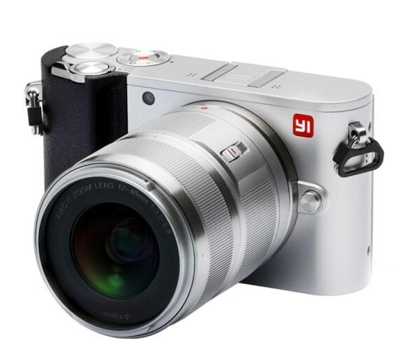 小蚁(YI)M1银色微单相机