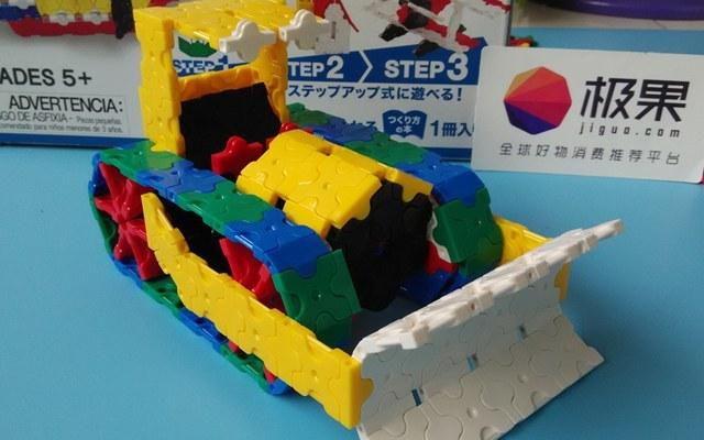 自由搭配,造型百变的LaQ拼插积木促进孩子智力发育
