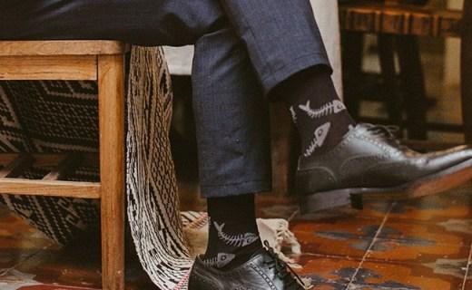 zaferwalk袜子:精致独立盒装,超薄透气有弹力