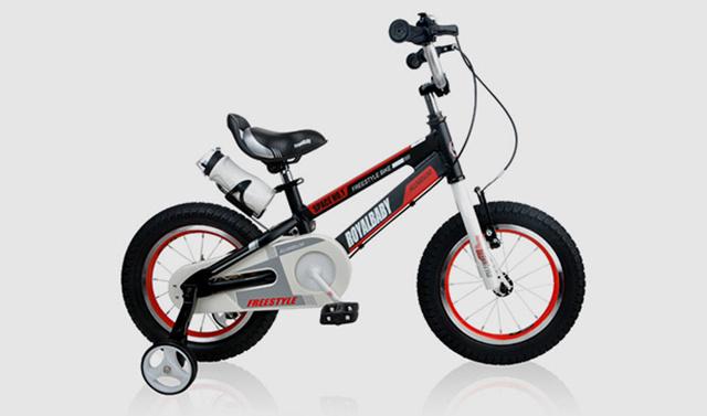 优贝太空一号儿童自行车首发试用