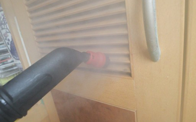无需清洁剂,除掉陈年污渍,卡赫多功能蒸汽清洁机体验