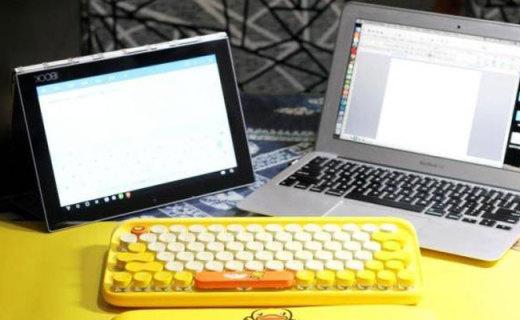 激萌又可爱的小黄鸭键盘,B.DUCK&洛斐DOT机械键盘简评