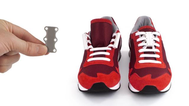 Zubits白色魔术鞋带
