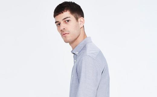 CELIO JAOXFORD衬衫:纯棉材质柔软亲肤,经典版型简单时尚