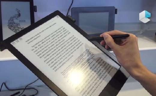 尺寸巨大!能当显示器的电子阅读器