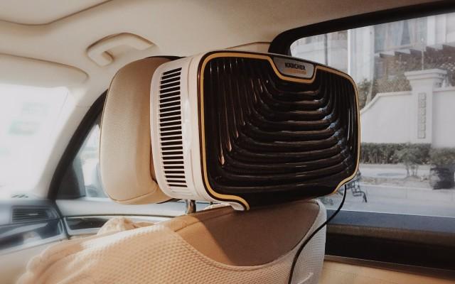 有了凯驰车载空气净化器,坐车里就能呼吸到大山里的空气